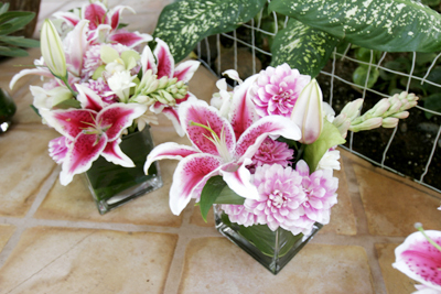 lilies and tuberose