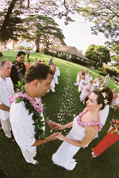 Maui wedding package at Olowalu